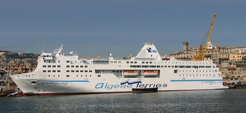 Nave Traghetto Algerie Ferries el djazair II