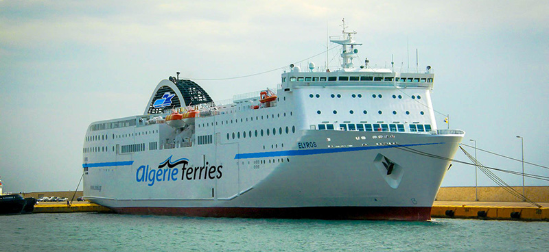 Traghetto Elyros Algerie Ferries