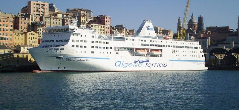 Nave Traghetto Algerie Ferries tassili II