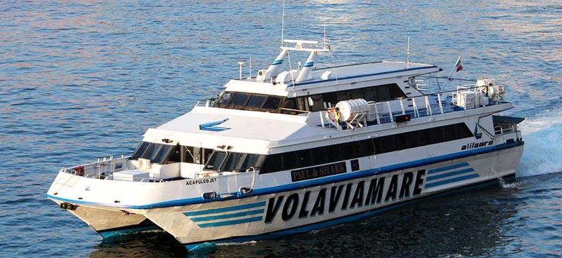Monocarene e Catamarani Alilauro acapulco jet