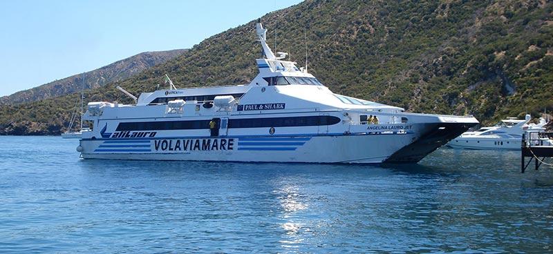 Monocarene e Catamarani Alilauro angelina lauro jet