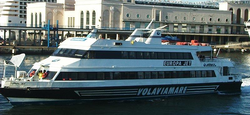 Monocarene e Catamarani Alilauro europa jet