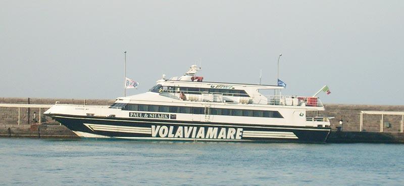 Monocarene e Catamarani Alilauro giunone jet