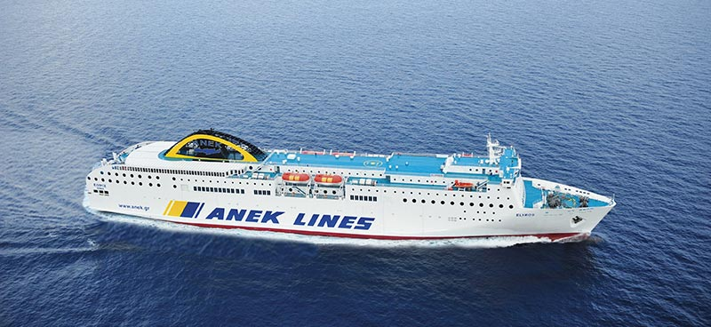 Nave Traghetto Anek Lines elyros