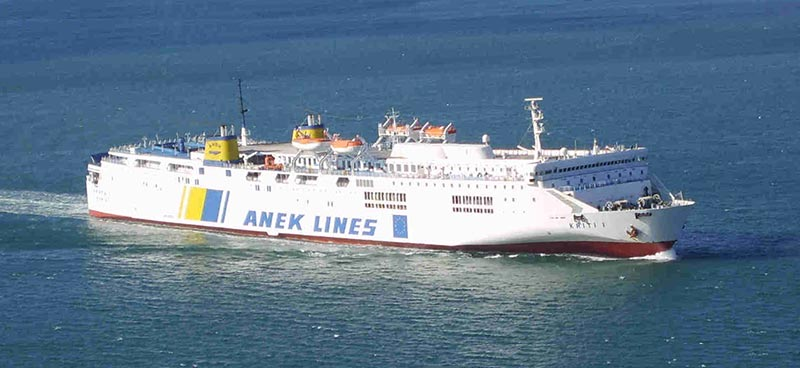 Nave Traghetto Anek Lines kriti I