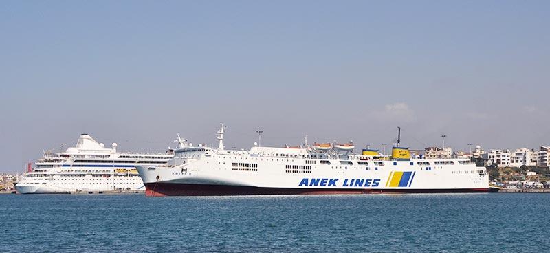 Nave Traghetto Anek Lines kriti II