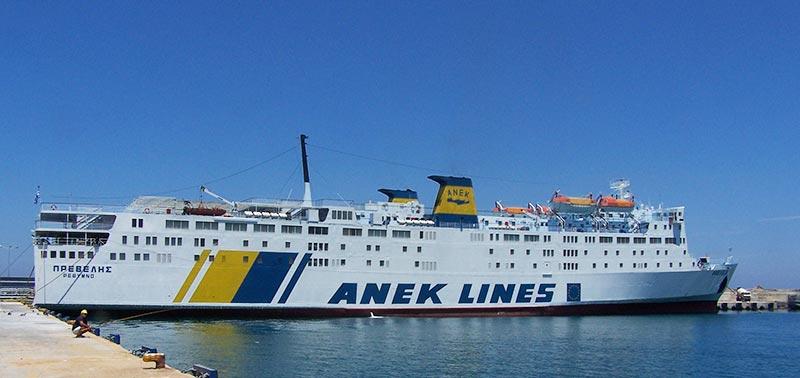 Nave Traghetto Anek Lines prevelis