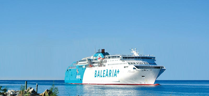 Nave Traghetto Balearia bahama mama