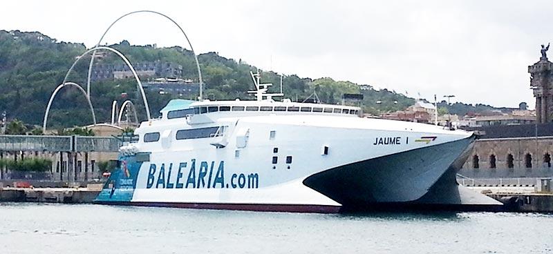 Mezzi Veloci Balearia jaume I II III