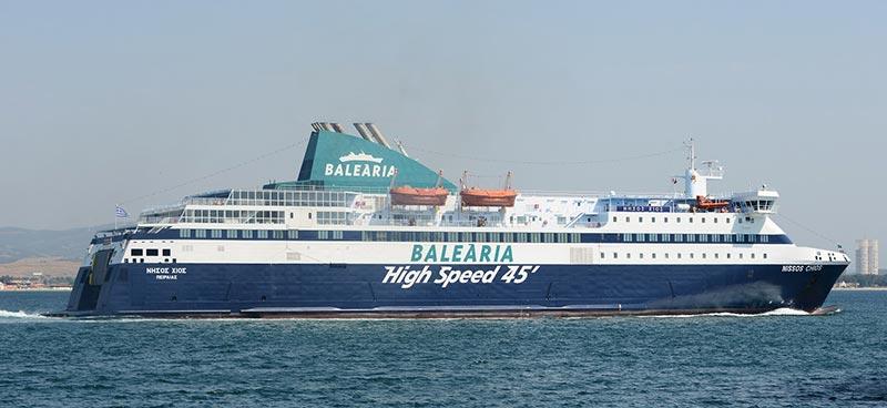 Nave Traghetto Balearia nissos chios