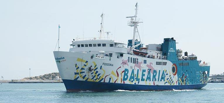 Nave Traghetto Balearia posidonia
