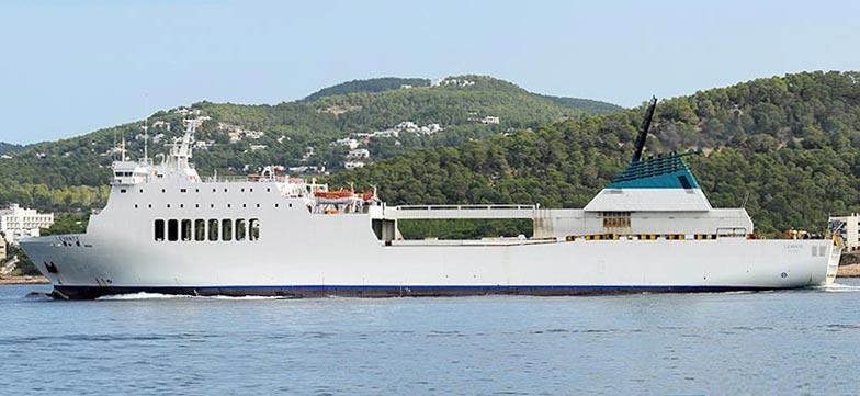 Nave Traghetto Balearia puglia