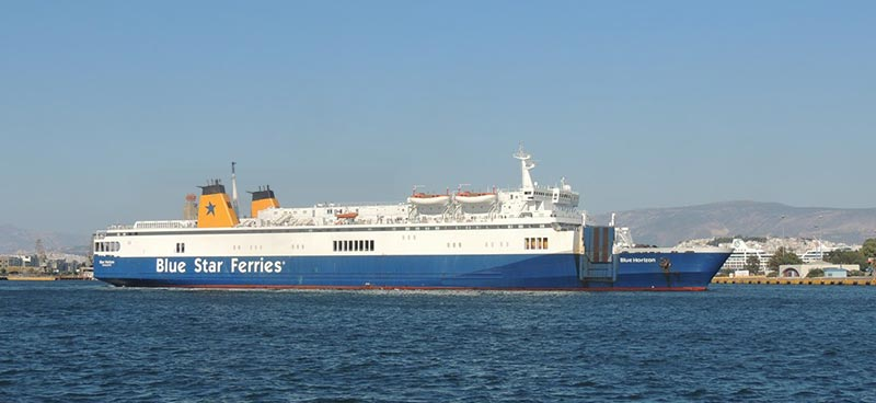 Traghetto Blue Horizon Blue Star Ferries
