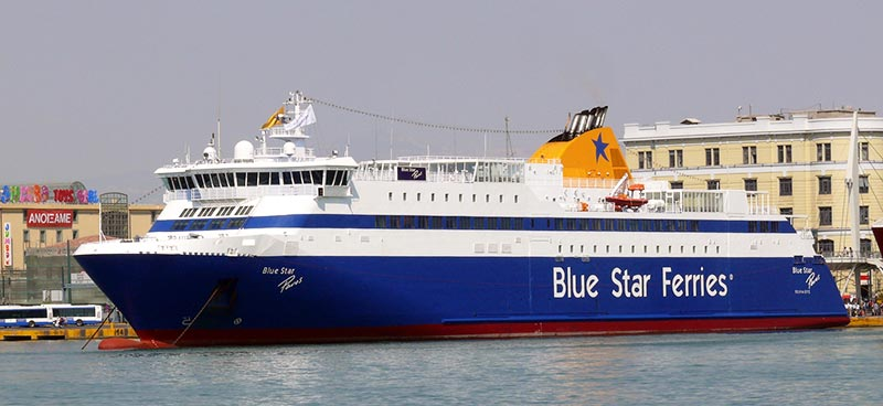 Traghetto Blue Star Paros Blue Star Ferries