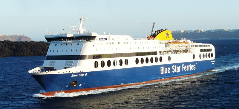 Traghetto Blue Star Two Blue Star Ferries