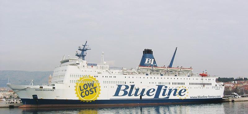 Nave Traghetto BlueLine regina della pace