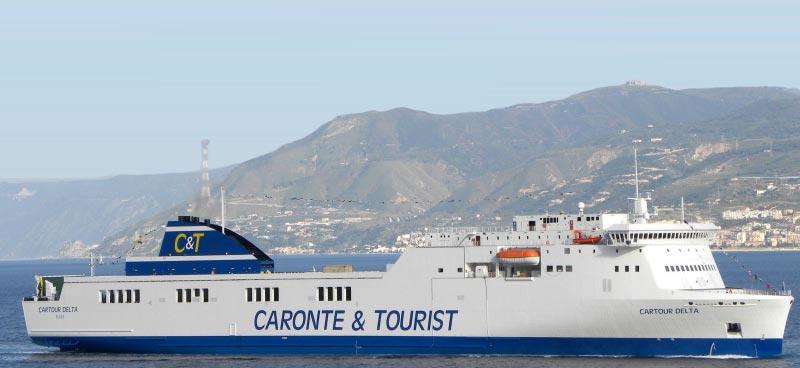 Nave Traghetto Caronte & Tourist cartour delta