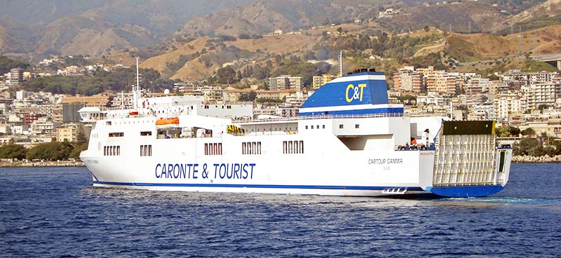 Nave Traghetto Caronte & Tourist cartour gamma