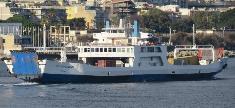 Navi Short Shipping Caronte & Tourist villa san giovanni