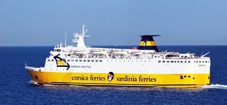 Nave Traghetto Corsica Ferries corsica marina II