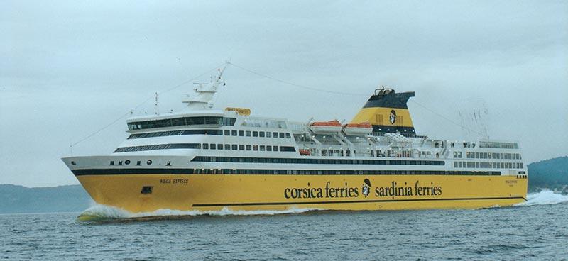 Navi Fast Cruise Corsica Ferries mega express I