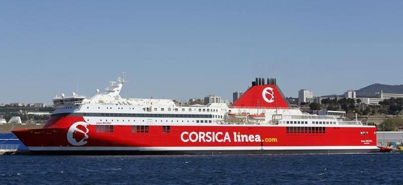 Nave Traghetto Corsica Linea jean nicoli