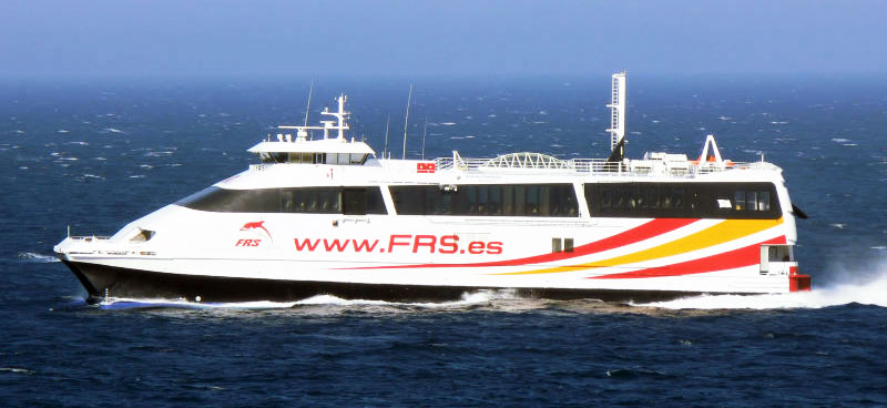 Nave Traghetto FRS Iberia ceuta jet