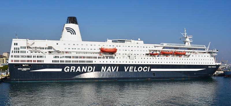 Nave Traghetto Grandi Navi Veloci snav toscana