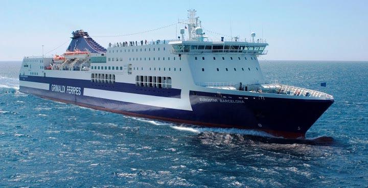 Navi Fast Cruise Grimaldi Lines cruise barcellona