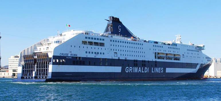 Navi Fast Cruise Grimaldi Lines cruise roma