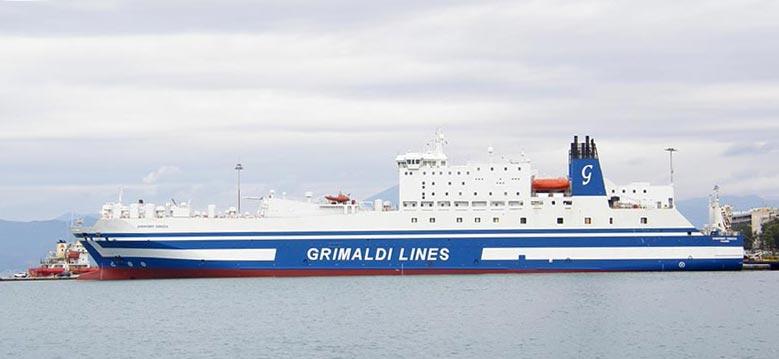 Nave Traghetto Grimaldi Lines egnazia