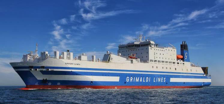Nave Traghetto Grimaldi Lines euroferry olympia