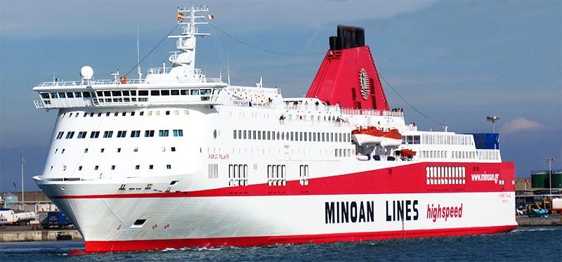 Navi Fast Cruise Grimaldi Lines ikarus palace
