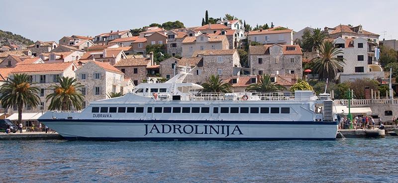 Monocarene e Catamarani Jadrolinija dubravka