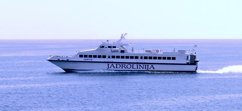 Monocarene e Catamarani Jadrolinija judita