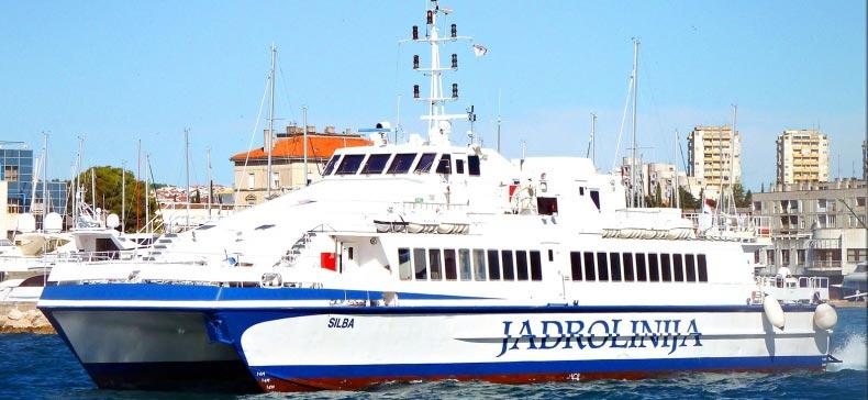 Monocarene e Catamarani Jadrolinija silba