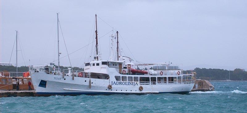 Monocarene e Catamarani Jadrolinija tijat