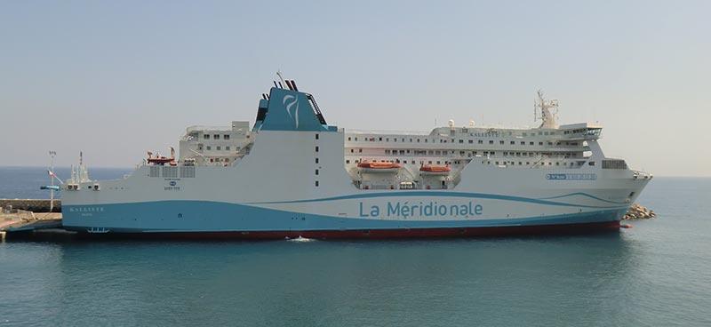 Nave Traghetto La Meridionale kalliste