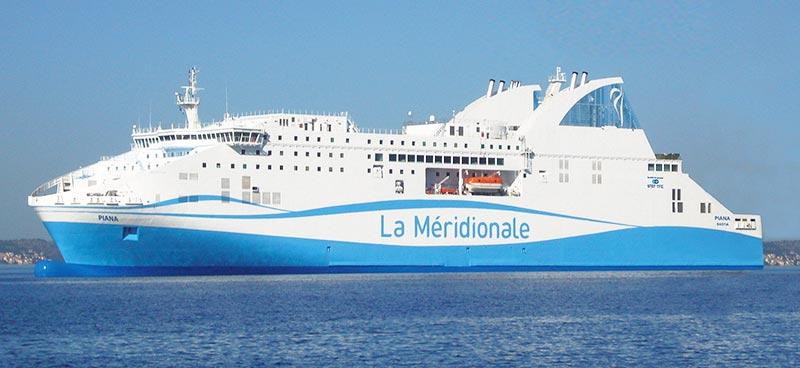 Nave Traghetto La Meridionale piana