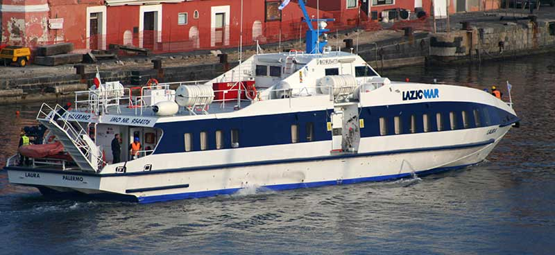 Monocarene e Catamarani Laziomar laura