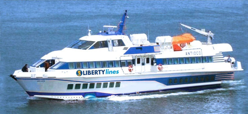 Aliscafi Liberty Lines antioco