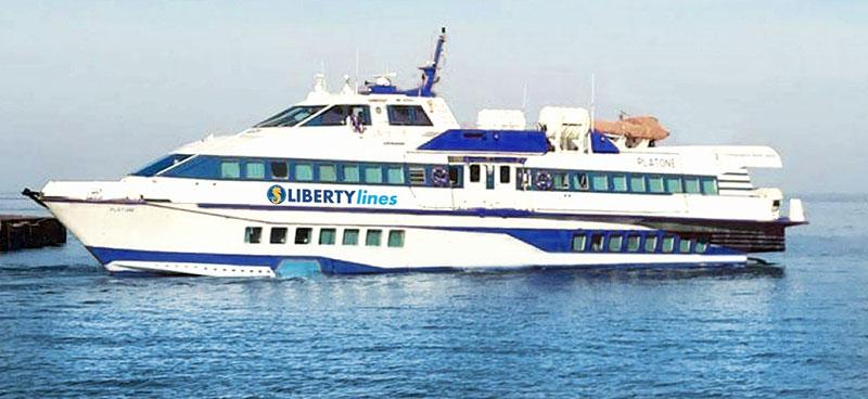 Aliscafi Liberty Lines platone