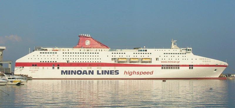 Navi Fast Cruise Minoan Lines cruise europa