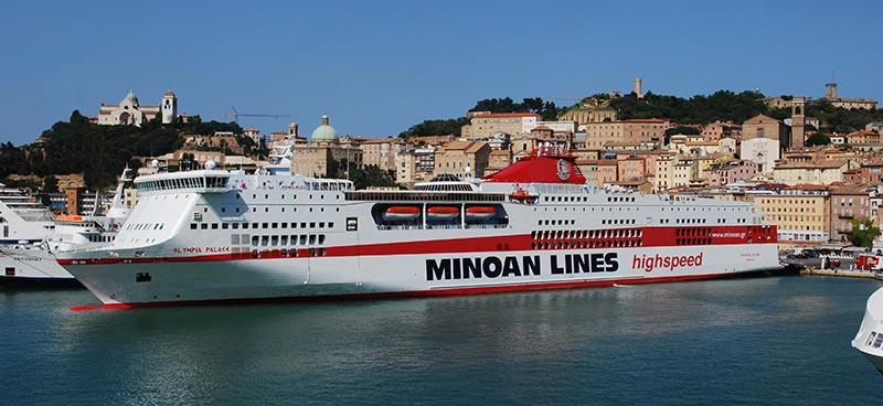 Traghetto Hsf Olympia Palace Minoan Lines