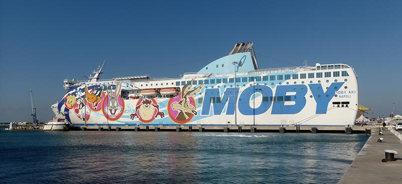 Navi Fast Cruise Moby aki