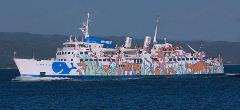 Traghetto Ale Moby Lines