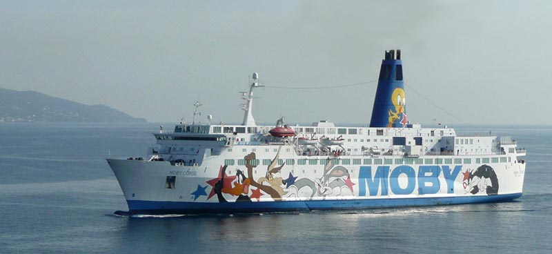 Traghetto Corse Moby Lines