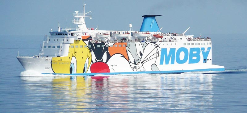 Traghetto Vincent Moby Lines