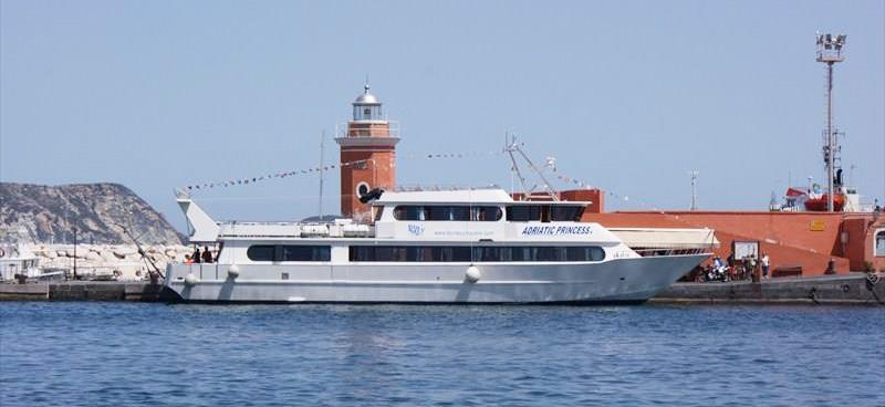 Mezzi Veloci e Aliscafi Navigazione Libera Adriatica adriatic princess III
