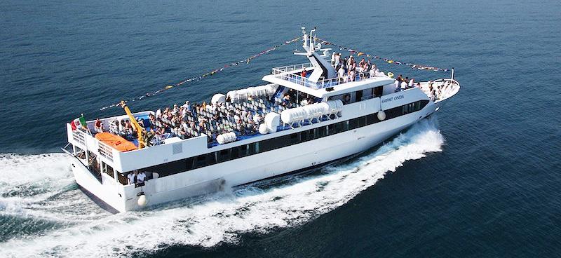 Mezzi Veloci e Aliscafi Navigazione Libera Adriatica onda